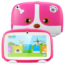 7Inch Kids Tablet Android Quad Core Dual Camera WiFi Education Game Gift 1+16GB