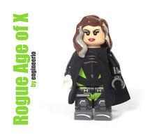 LEGO Custom -- Rogue Age of X -- Marvel super heroes mini figure