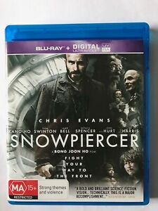 Snowpiercer (2013, Region B Blu-Ray, Tilda Swinton, John Hurt, Chris Evans)
