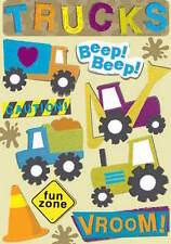 Karen Foster Design Cardstock Scrapbook Stickers - Fun Trucks