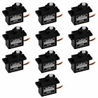 10pcs 180 Degree Micro Servo Motor for RC Dancing Robot Spider Helicopter