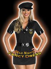 *** SALE *** FANCY DRESS COSTUME D LADIES SEXY HANDCUFF HOTTIE COP SIZE 10-16