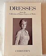 COLOUR CATALOGUE DRESSES COLLECTION DIANA PRINCESS OF WALES 1997 CHRISTIES NY