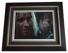 Rhys Ifans SIGNED 10x8 FRAMED Photo Autograph Display Harry Potter Film COA
