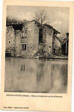 CPA Koeur la Petite-Maisons bombardées par les Allemands (232310)