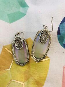 Kendra Scott Silver Emmy Earrings