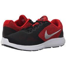 Nike REVOLUTION 3 Mens Red Black 600 Athletic Running Cross Training Shoes