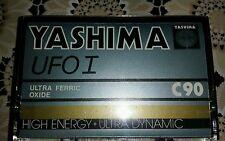 10 Yashima UFO 1 C90 cassettes audio + - année 1980 vintage