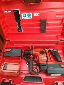 Hilti SDS+ Cordless combi hammer drill TE 6-A36, 2 batteries, charger