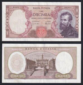 Italia 10000 lire Michelangelo 15.2.1973 SPL++/XF++  B-01