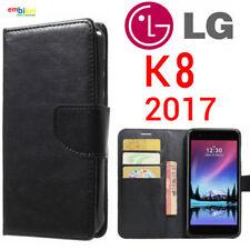 Custodia per LG K8 2017 Flip Cover Libro Portafoglio Chiusura Magnetica