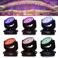 1PCS 360W RGBW Zoom Moving Head Light DMX 36 x10W LED Stage Party Show Wedding