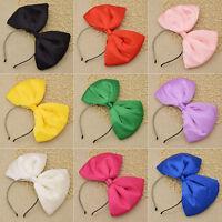 Lolita Oversized Big Bow Headband Hair Bands Baby Headwear Hair Clip Cosplay