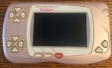 Bandai WonderSwan Color console Pearl Pink