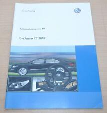 Selbststudienprogramm SSP 417 VW Der Passat CC 2009 Volkswagen Service Training