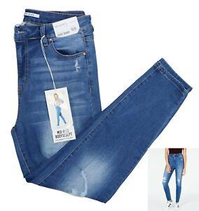 Celebrity Pink Mid Rise Curvy Fit Skinny Leg Denim Jeans 31Wx27L NWT Killington