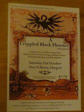 Crippled Black Phoenix - Glasgow oct.2006 tour concert gig poster