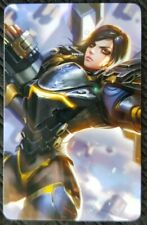 PHARAH Overwatch Sticker Card ID Bank Game Party Loot Kids Decal PC Skate