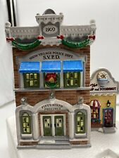 Dept 56 Original Snow Village1995 Village Police Station 54853 w/ Foam & Sleeve