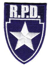 Resident Evil - Police Department Shield - Logo Patch - Uniform Aufnäher
