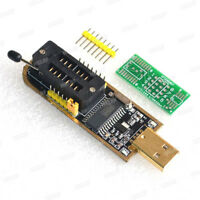 25 SPI Series 24 EEPROM CH341A BIOS Writer Routing LCD Flash USB Programmer USA