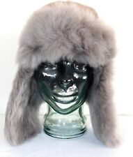 3b4ecac01bb880 NEW NWT WOMENS STORMY GREY UGG TOSCANA LONG PILE TRAPPER SHEEPSKIN HAT O/S  $225