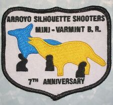Arroyo Silhouette Shooters Mini-Varmint B.R. Patch - 7th Anniversary