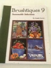 Decorative Tole Painting Pattern Book Brushtiques 9 Seasonable Selections