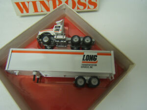 Winross Long Transportation Services Kenworth Cab Diecast 1/64 MIB 1994