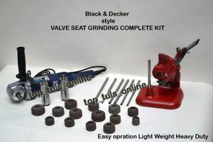 BLACK & DECKER STYLE VALVE SEAT GRINDING COMPLETE KIT HIGH SPEED GRINDER 220V 50