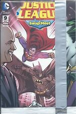 2014 GENERAL MILLS CEREAL JUSTICE LEAGUE 9 MINI COMIC swap meet PROMO BATMAN