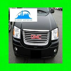 2002-2009 GMC ENVOY CHROME TRIM FOR GRILL GRILLE 5YR WARRANTY XL