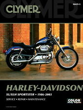 Harley Davidson Sportster 883 1200 1986-2003 Clymer Manual M4295 NEW