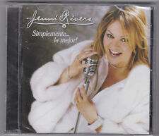 "JENNI RIVERA-""Simplemente La Mejor""  International/Tejano Tex Mex CD"