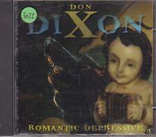 DON DIXON - romantic depressive CD