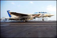 USN F-14 Tomcat VF-213 Carrier Landing 2005 8x12 Photo