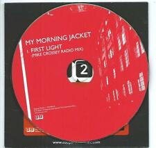 MY MORNING JACKET First Light radio mix 1 TRACK PROMO CD SINGLE