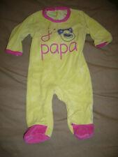 Pyjama Bebe Fille  3 MOIS   VELOURS  ** KIMBALOO **