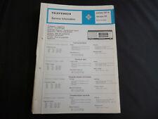 Original Service Manual Telefunken  Jubilate 301 A dacapo 101