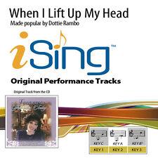 Dottie Rambo - When I Lift Up My Head - Accompaniment Track