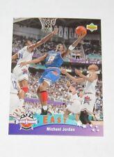 1995 Michael Jordan NBA Upper Deck 'He's Back March 19, 1995' Reprint Card #425