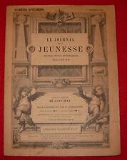 Journal de la Jeunesse illustré, Numéro Spécimen du 1er décembre 1894