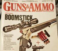 Guns Ammo Magazine ...Exclusive Broomstick  ..January  2021
