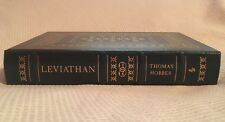 Leviathan Thomas Hobbes Easton Press Leather Collectors Edition