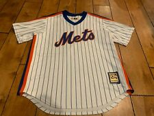 Darryl Strawberry #18 NEW YORK METS Majestic size L COOPERSTOWN COLLECTION