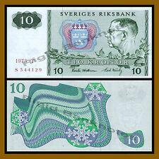 Sweden 10 Kronor, 1975 P-52c Unc
