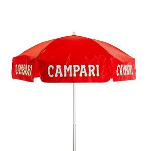 6 ft Campari Vinyl Outdoor Patio Umbrella