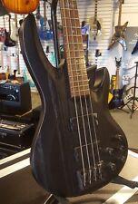 ESP LTD B-334-SB 4 String Bass Guitar Satin Black... NOS FREE HARD CASE