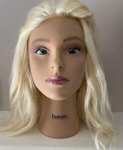 "HairArt Cosmetology Mannequin Head- Olivia 15"" #4723"