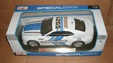 1/18 Scale 2010 Chevy Camaro SS RS Police Car Diecast Model Cruiser Maisto 31161